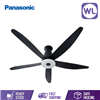 Picture of PANA AURA CEILING FAN F-M15EXVBKRH (LONG PIPE/ BLACK)