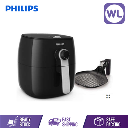 Picture of PHILIPS AIR FRYER HD9623/11(BLACK) 0.8KG