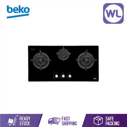 Picture of Beko Built In Hob HISW 93225 SOB (Gas 90CM)