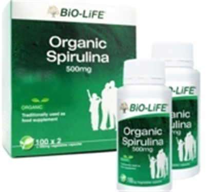 Picture of Bio-Life Organic Spirulina 500mg
