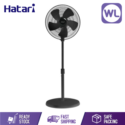Picture of HATARI INDUSTRIAL STAND FAN 18 INC IP18M1 BLACK