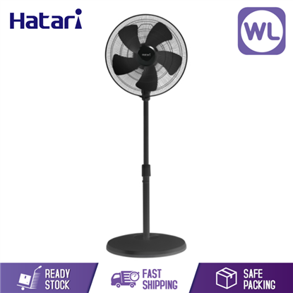 Picture of HATARI INDUSTRIAL STAND FAN 22 INC IP22M1 BLACK