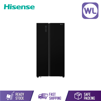 Picture of Hisense Side By Side Inverter RS680N4AWBU (620L)