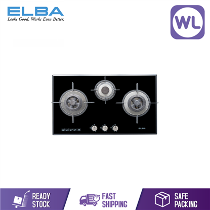 Picture of Elba Built In Glass Hob EGH-G8593G (BLACK)