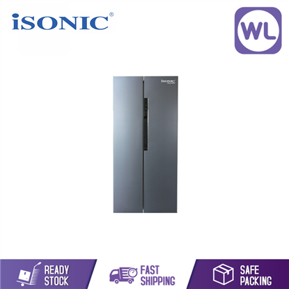 Picture of iSONIC Side By Side Refrigerator IS-620R