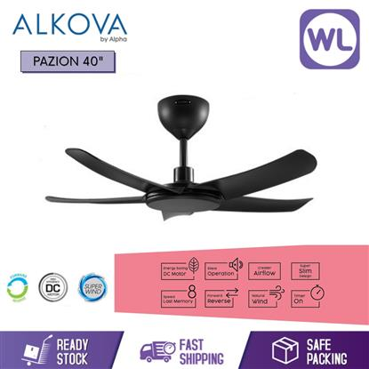 Picture of ALKOVA CEILING FAN PAZION 40 BLK