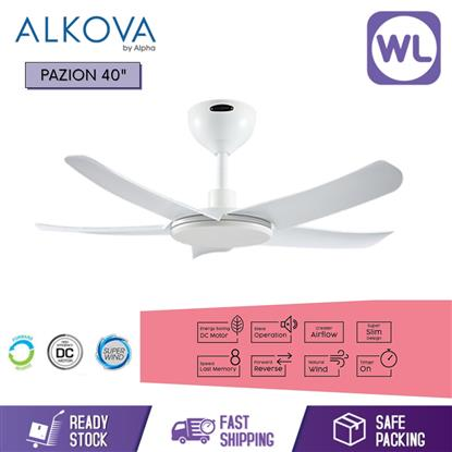 Picture of ALKOVA CEILING FAN PAZION 40 WHT