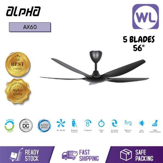 Picture of ALPHA AX60/5B 56 BLACK