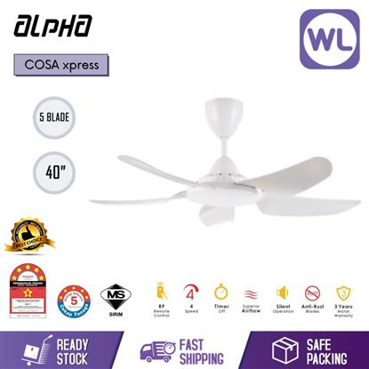 "Picture of ALPHA CEILING FAN COSA XPRESS 40"" WHT"