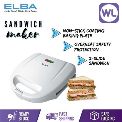 Picture of ELBA SANDWICH MAKER ESM-G7021(WHITE)