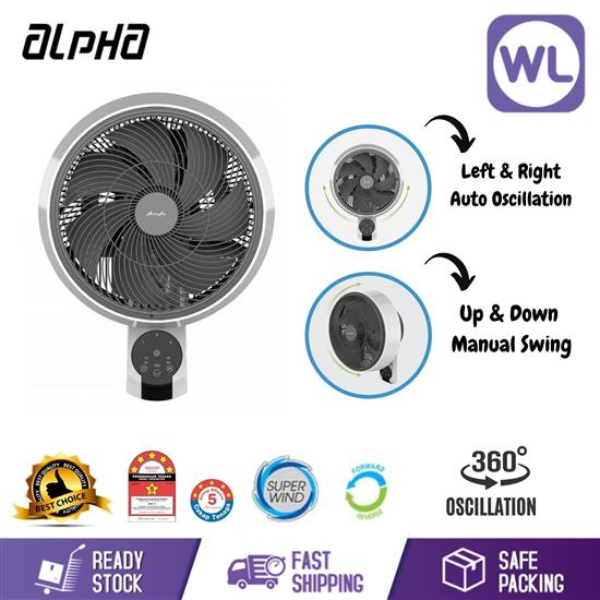 """Picture of ALPHA WALL FAN MOTTO WF60 12"""""""