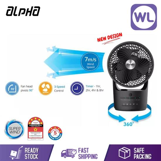 Picture of ALPHA ROTATING FAN VONA 360 (BLACK)
