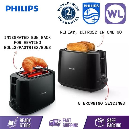Picture of PHILIPS TOASTER HD2581/91