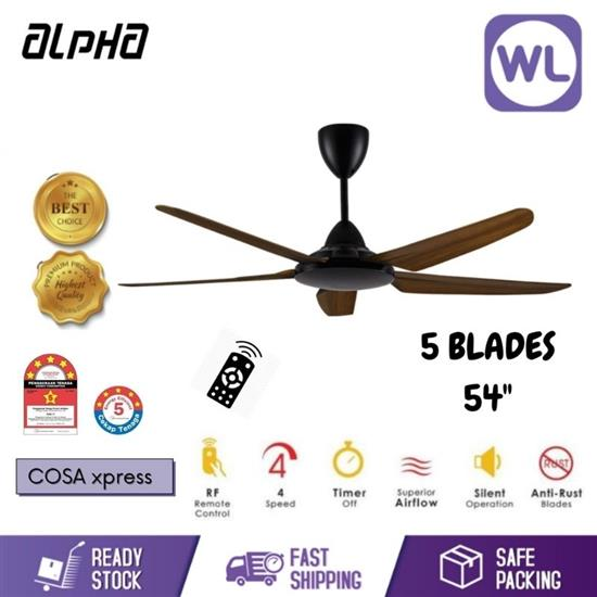 "Picture of ALPHA CEILING FAN COSA XPRESS (54""/ WALNUT)"