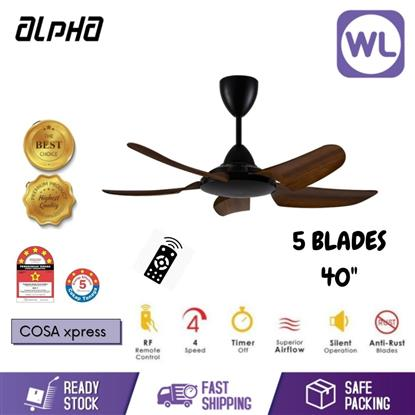 "Picture of ALPHA CEILING FAN COSA XPRESS (40""/ WALNUT)"