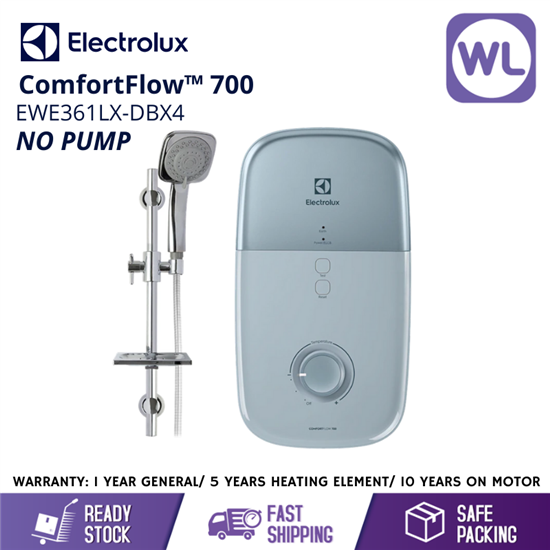 Picture of ELECTROLUX HOME SHOWER EWE361LX-DBX4 (NO PUMP/ SKY BLUE)