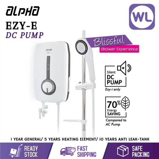 Picture of ALPHA HOME SHOWER EZY-I (DC PUMP)