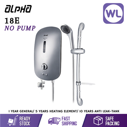 Picture of ALPHA HOME SHOWER SMART 18E (NO PUMP/ SILVER)