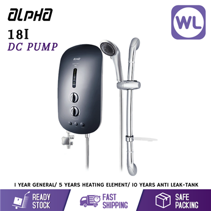 Picture of ALPHA HOME SHOWER SMART 18I (DC PUMP/ METAL BLACK)
