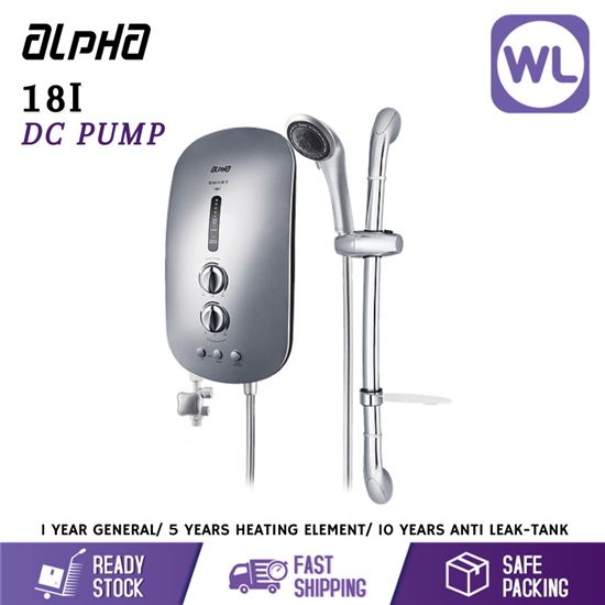 Picture of ALPHA HOME SHOWER SMART 18I (DC PUMP/ SILVER)