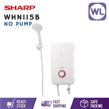 Picture of SHARP HOME SHOWER WHN115B (NO PUMP/ WHITE)