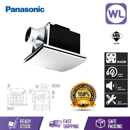 Picture of PANA EXHAUST FAN FV-17CLMXVBSH (SILVER)