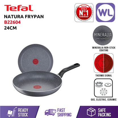 Picture of TEFAL COOKWARE NATURA FRYPAN B22604 (24CM)