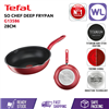 Picture of TEFAL COOKWARE SO CHEF DEEP FRYPAN G13586 (28CM/ INDUCTION BASE)