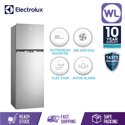 Picture of ELECTROLUC TOP MOUNT FRIDGE ETB3700H-A (350L/ ARCTIC SILVER)