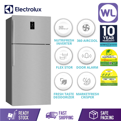 Picture of ELECTROLUX FRIDGE ETB5702AA (537L/ ARCTIC SILVER)