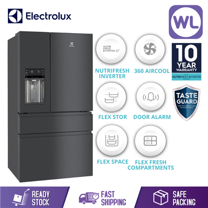 Picture of ELECTROLUX FRENCH DOOR FRIDGE EHE6879A-B (617L/ DARK STAINLESS STEEL)