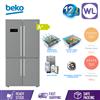 Picture of BEKO MULTI DOOR FRIDGE GN1416231ZX (626L/ TITANIUM INOX)