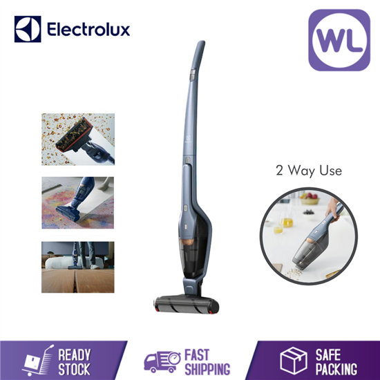 Picture of ELECTROLUX CORDLESS VACUUM CLEANER ZB3411 (TITAN BLUE/ 18V)