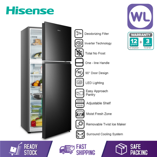 Picture of HISENSE 2 DOOR INVERTER RT543N4FBV (500L)