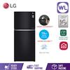 Picture of LG FRIDGE GN-C422SGCC (427L/ BLACK GLASS)
