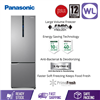 Picture of PANASONIC 2 DOOR FRIDGE NR-BC360XSMY (358L/ SILVER)