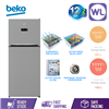 Picture of BEKO FRIDGE RDNT440E50VZP (PLATINUM INOX)