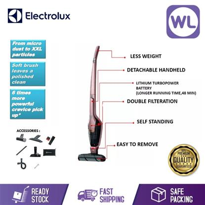 Picture of ELECTROLUX CORDLESS VACUUM CLEANER ZB3414AK (SOFT PINK/ 18V)