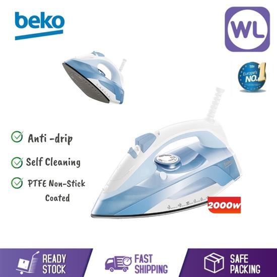Picture of BEKO STEAM IRON SIM4118NS (2000W/ BLUE)