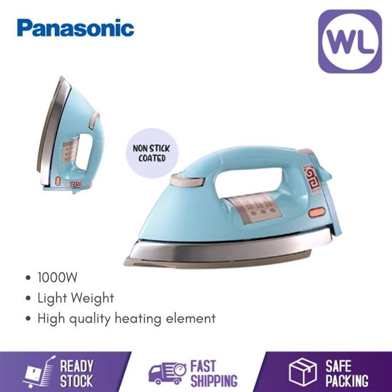Picture of PANASONIC NON-STICK DRY IRON I NI-25AWT/BT (1000W/ BLUE)