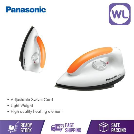 Picture of PANASONIC NON-STICK DRY IRON NI-317TVSK (1000W/ ORANGE)