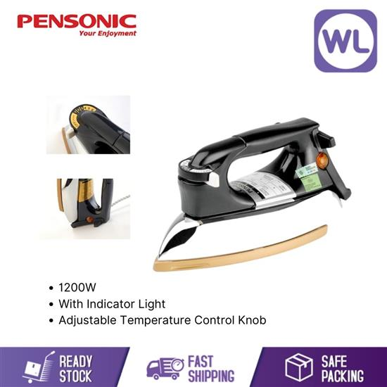 Picture of PENSONIC DRY IRON PI-600 (1200W/ BLACK)