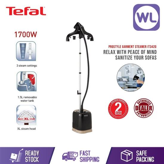 Picture of TEFAL PRO STYLE GARMENT STEAMER IT3420 (1700W/ BLACK BEIGE)