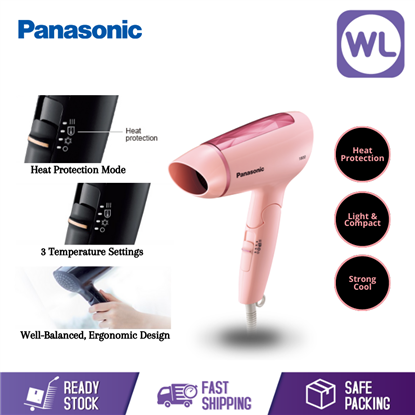 Picture of PANASONIC BASIC HAIR DRYER EH-ND30P (1800W/ PINK)