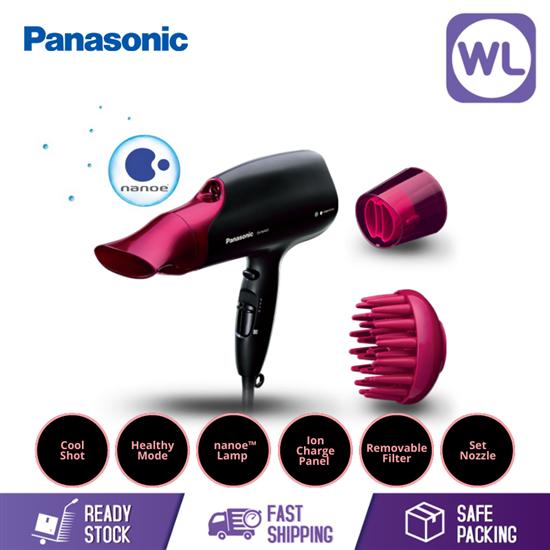 Picture of PANASONIC nanoe™ HAIR DRYER EH-NA65 (2000W/ BLACK PINK)