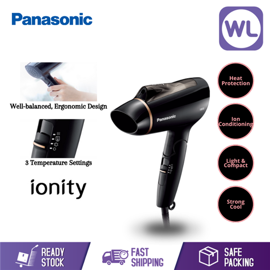 Picture of PANASONIC BASIC IONITY HAIR DRYER EH-NE20 (1800W/ BLACK)