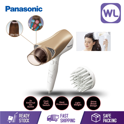 Picture of PANASONIC IONITY HAIR DRYER WITH DIFFUSER EH-NE72 (2000W/ WHITE GOLD)