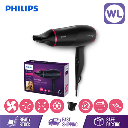 Picture of PHILIPS DRYCARE ESSENTIAL BHD029/03 (1600W/ BLACK)