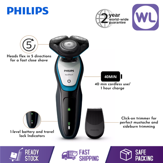 Picture of PHILIPS WET & DRY ELECTRIC SHAVER S5070/04