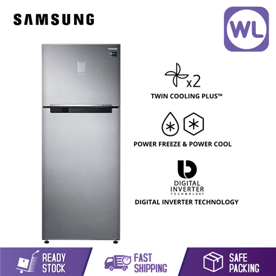Picture of SAMSUNG TOP MOUNT FREEZER RT43K6271SL/ME (520L/ SILVER)
